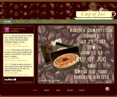 cup of joe, demo image